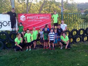 Mladí Titáni trénují v Brně.